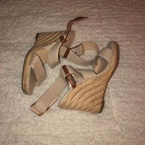 Shoes - Banana Republic Wedges